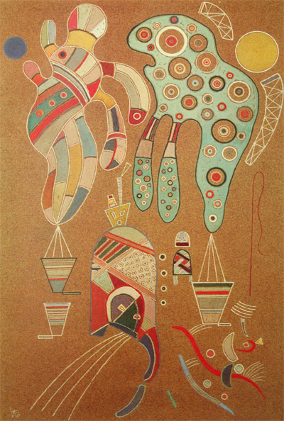 Untitled (1941)  by Wassily Kandinsky