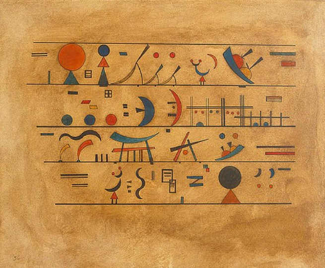 Sign Series (1931)  by Wassily Kandinsky
