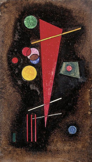 Determinant (1928)  by Wassily Kandinsky