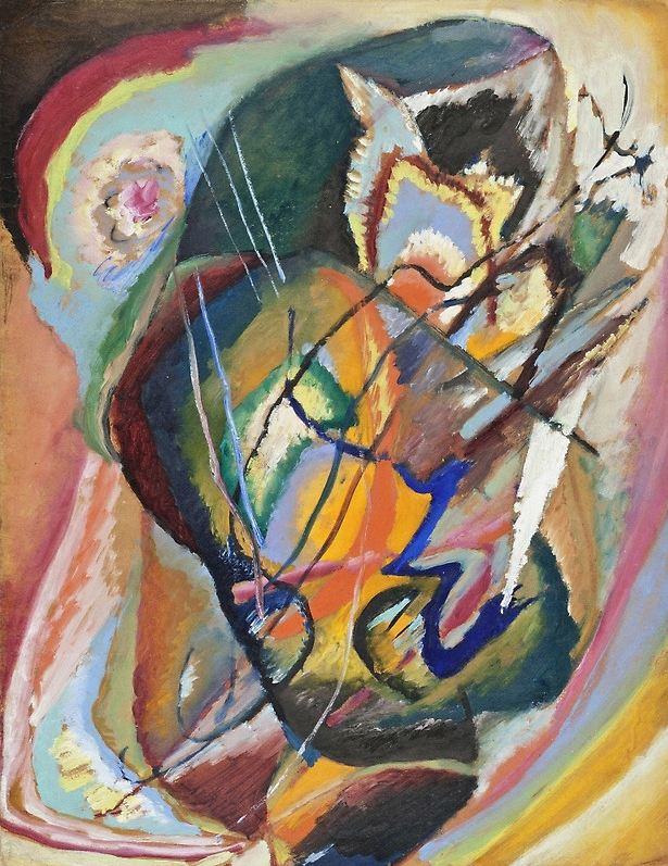 Untitled Improvisation III (1914)  by Wassily Kandinsky
