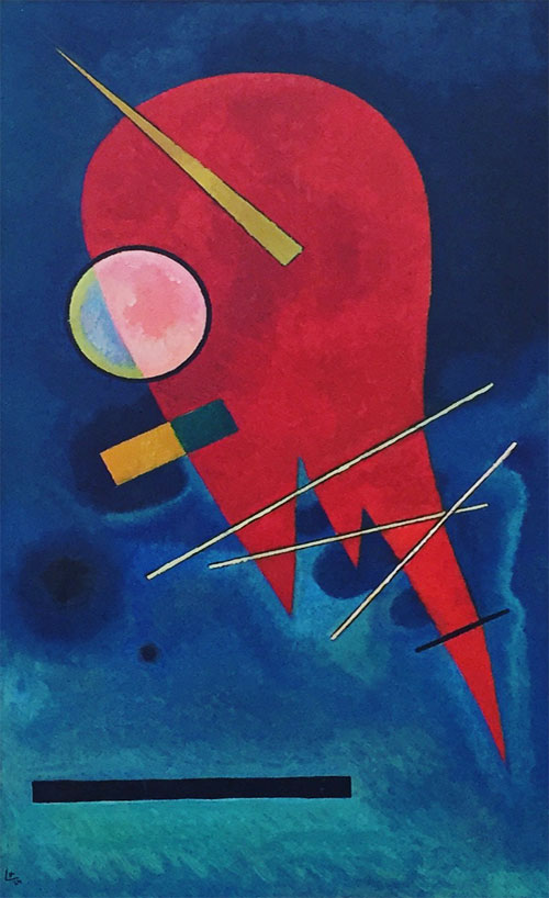 Red (1924)  by Wassily Kandinsky