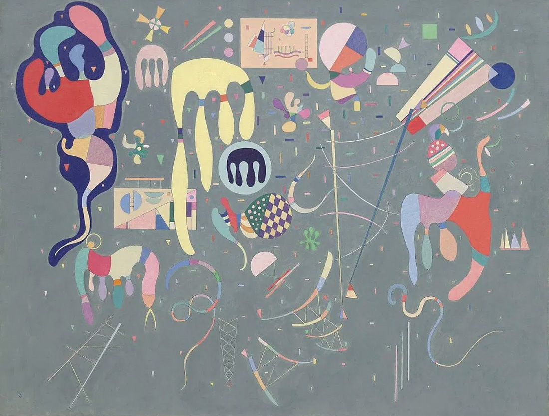 Various Actions (1941)  by Wassily Kandinsky