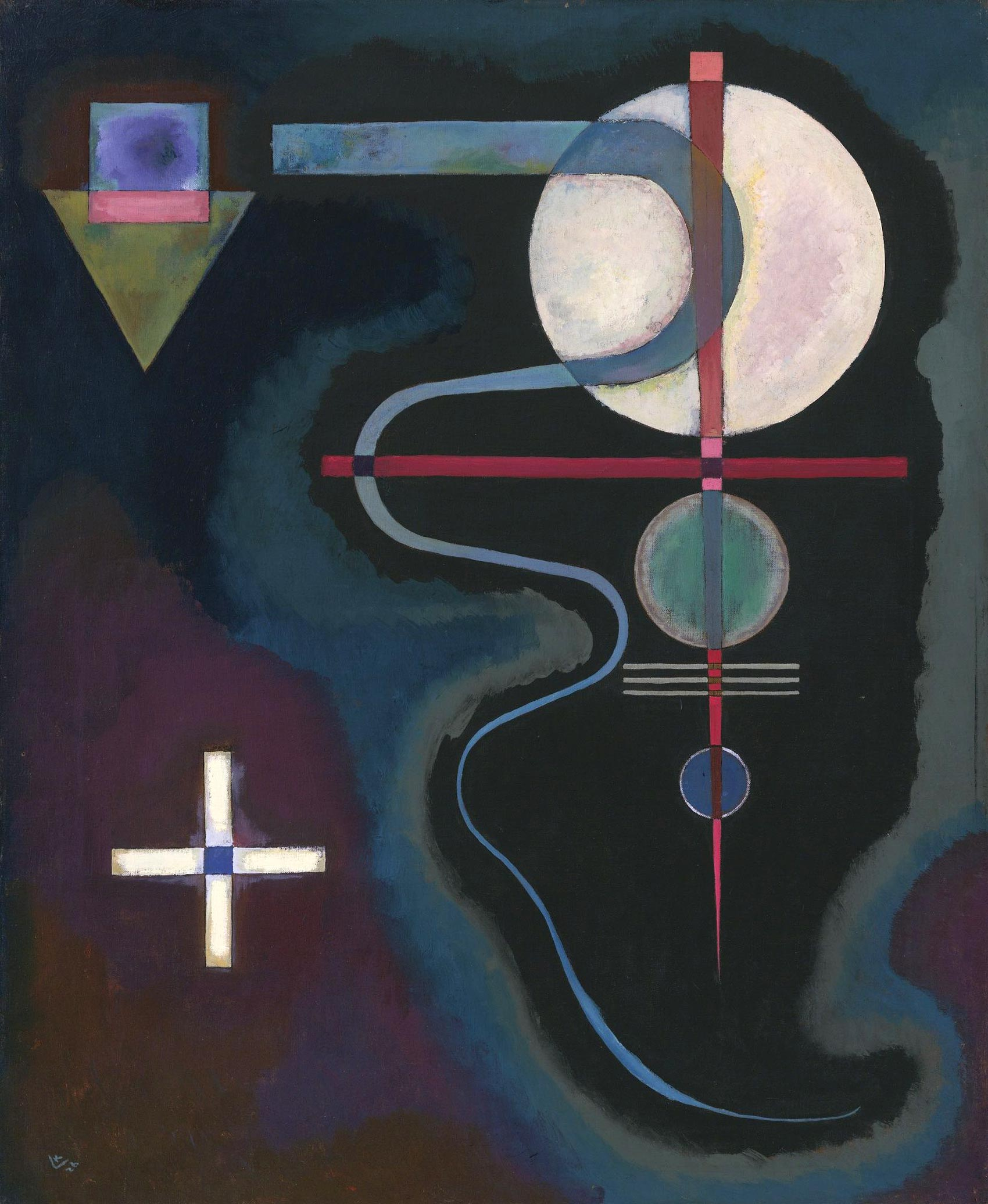 Cool Energy (1926)  by Wassily Kandinsky
