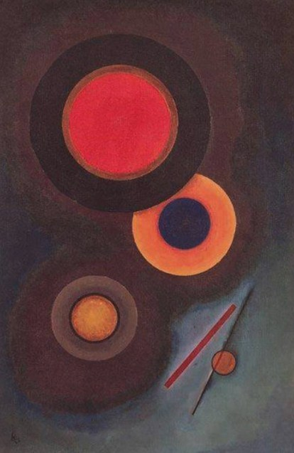 Composition with Circles and Lines (1926)  by Wassily Kandinsky