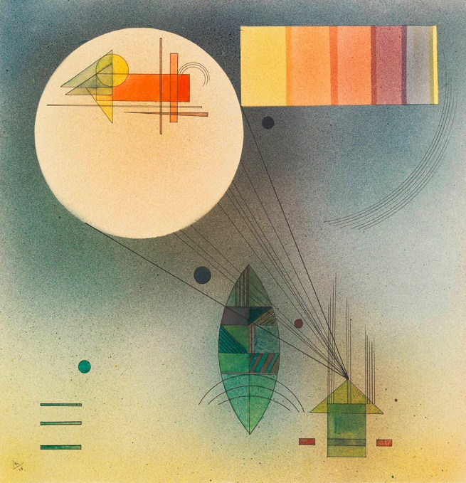 Scale (1928)  by Wassily Kandinsky