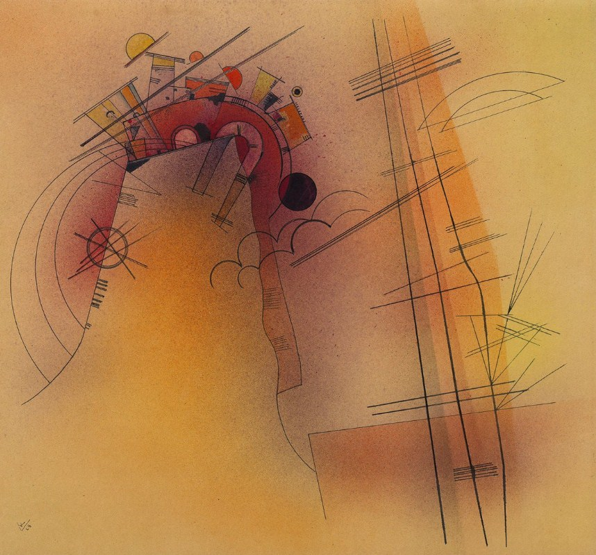 Aglow (1928)  by Wassily Kandinsky