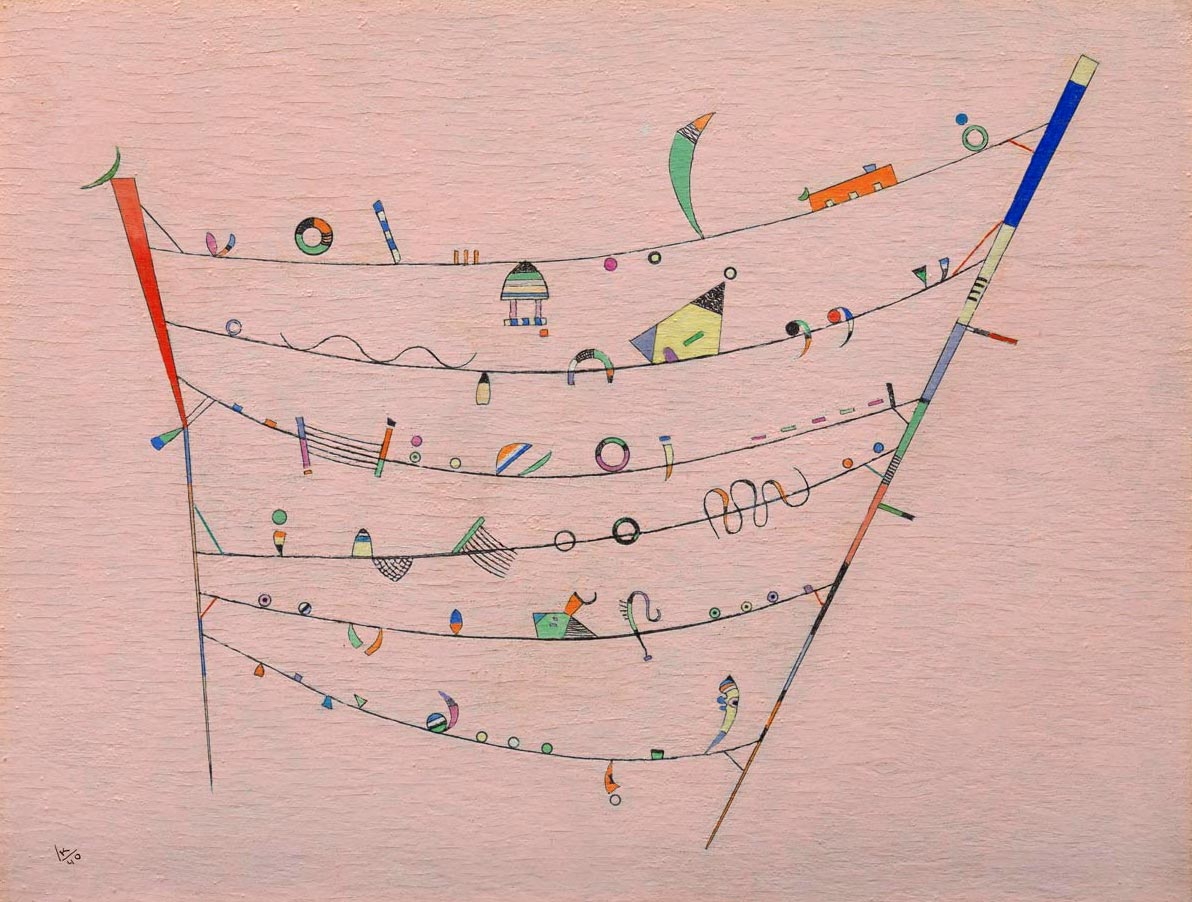 Little Accents (1940)  by Wassily Kandinsky