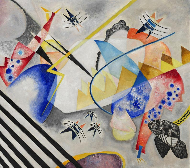 White Center (1921)  by Wassily Kandinsky