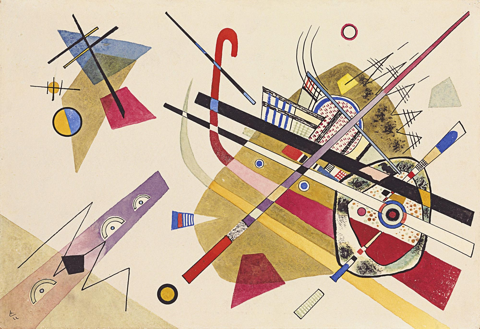Untitled (1922)  by Wassily Kandinsky