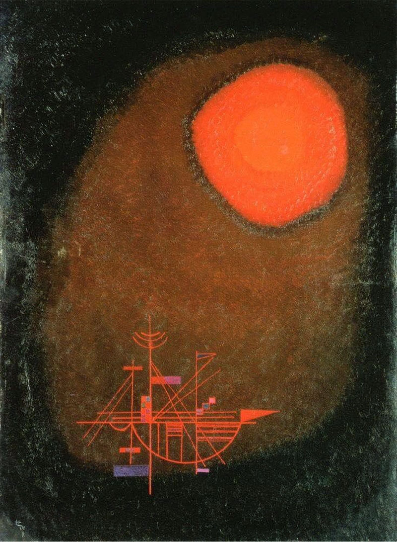 One Spit (1925)  by Wassily Kandinsky