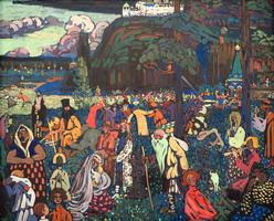 Colorful Life (1907) by Wassily Kandinsky
