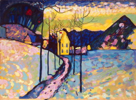 Winter Landscape (1909) by Wassily Kandinsky