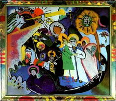 All Saints l (1911) by Wassily Kandinsky
