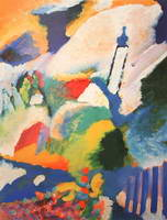 Wassily Kandinsky. Murnau with a Church,