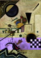 Contrasting Sounds (1924) by Wassily Kandinsky
