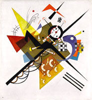 On White II (1923) by Wassily Kandinsky