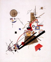 Wassily Kandinsky. Parallel Diagonals, 1925