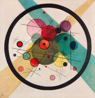 Wassily Kandinsky. Circles in a Circle, 1923