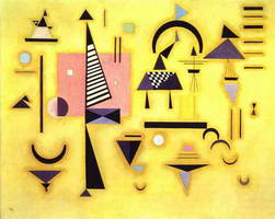 Decisive Pink (1932) by Wassily Kandinsky