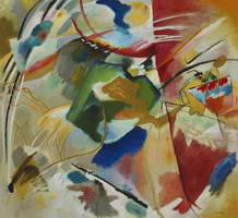 Painting with Green Center (1913) by Wassily Kandinsky
