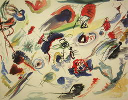 Untitled (First Abstract Watercolor), 1910