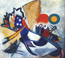 Improvisation 209 (1917) by Wassily Kandinsky