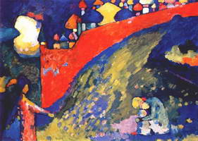 Fate. Domes (1909) by Wassily Kandinsky