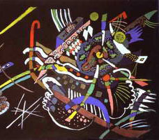 Draft for Mural In The Unjuried Art Show, Wall B (1922) by Wassily Kandinsky