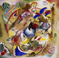 Wassily Kandinsky. Improvisation. Dreamy., 1913