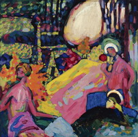 White Sound (1908) by Wassily Kandinsky