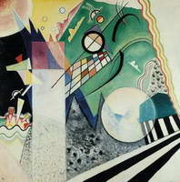 Open Green (1923) by Wassily Kandinsky