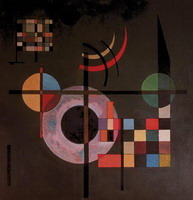 Gravitation (1935) by Wassily Kandinsky