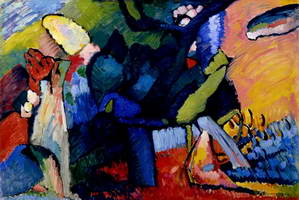 Improvisation 4 (1909 - 1910) by Wassily Kandinsky