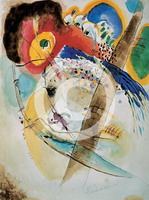Exotic Birds (1915) by Wassily Kandinsky