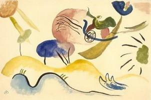 Wassily Kandinsky. Watercolour No. 2, 1911