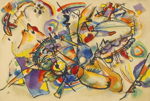 Untitled (1916) by Wassily Kandinsky