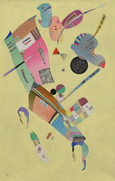Moderation (1940) by Wassily Kandinsky