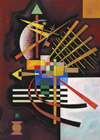 Wassily Kandinsky. Above and Left, 1925