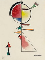 Unstable Balance (1930) by Wassily Kandinsky
