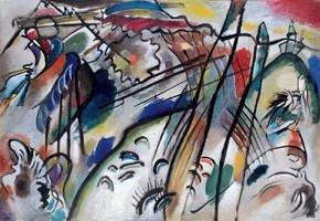 Wassily Kandinsky. Improvisation 28 (second version),