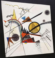 In the Black Square (1923) by Wassily Kandinsky