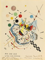 To the Sea and the Sun (1922) by Wassily Kandinsky