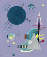 Violet - Green (1926) by Wassily Kandinsky