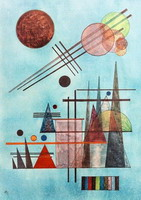 Wassily Kandinsky. Across and Up,