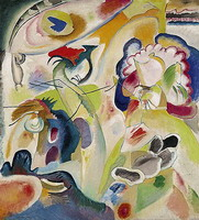 Wassily Kandinsky. Improvisation #29 (The Swan),