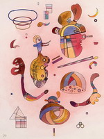 Isolated Objects (1934) by Wassily Kandinsky