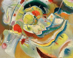 Wassily Kandinsky. Little Painting with Yellow,
