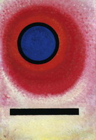 Blue Circle II (1925) by Wassily Kandinsky