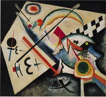 White cross (1922) by Wassily Kandinsky