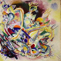 Untitled Improvisation V (1914) by Wassily Kandinsky